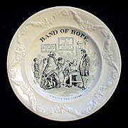 SALE Pearlware Band of Hope ~ Signing 1850