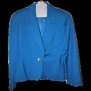 Vintage Christian Dior Jacket Petite Size 8