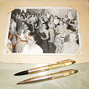 SOLD 1950's-60's Floaty Pen and Pencil S.S. Lurline