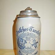 SOLD X. Deutsches Turnfest Nurnberg 1903 Beer Stein