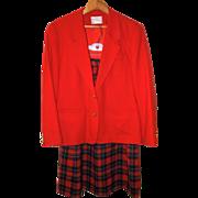 SOLD Vintage Pendleton Wool Blazer and Skirt