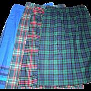 SOLD Group of 4 Vintage Pendleton Skirts Size 12