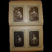 SALE C. 1910 German Post Card Album 162 Unused Cards