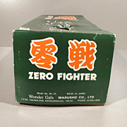 Japanese Vintage Tin Toy of WWII Zero Fighter Airplane
