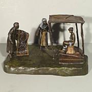 Vienna Bronze Figure Group Scene - Gesch - Austria
