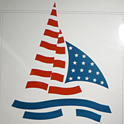 America's Cup - Don't Leave Perth Without It - Poster 1st Printing 1984
