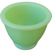 SOLD Jeannette Glass Jadeite Match Holder or Egg Cup