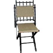 Fine American Aesthetic Movement Chair