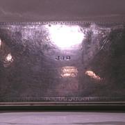 """Circa 1920.  Signed, """"Tiffany & Co."""" Sterling Cigarette Box"""