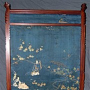 Circa 1885.  Fine, American Aesthetic Movement Fire Screen
