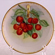Hand  Painted  RS Tilowitz Nappy Dish