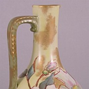 Limoge Porcelain Ewer Aesthetic Movement