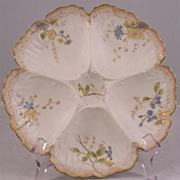 Limoge Oyster Plate