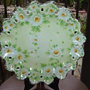 Pretty Daises Decorative  Plate