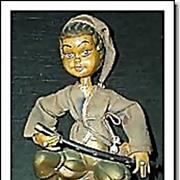 Vintage 1960's  Musician Elf