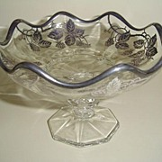 Silver City Glass Dish