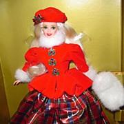 'Jewel Princess Barbie' Winter Princess- *NRFB **Retired