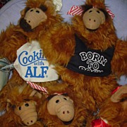 SALE Lot  of 5 ALF 'Born to Rock'