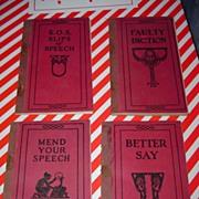 4:1915/1923 Booklets English Literature Homeschooling