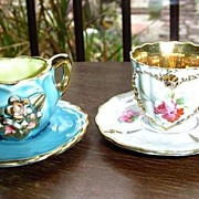 Lot of 2 sets of Miniatures Cups Duos