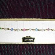 Austrian Cut Crystal Rosary Bracelet