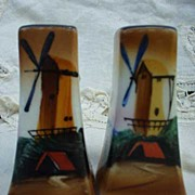 Hand-Painted Windmill Shakers