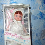 Uneeda 'Bitty Bye, Baby in Cradle' *MINT