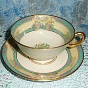 Vintage Lenox  'Monticello' Cup Duo