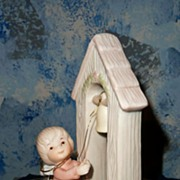 """Lefton Holy Treasures' The Christopher Collection """"Joy to the World"""" Figurine"""