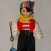 1983 Effanbee Captain Kidd Doll Mint in Box #1184