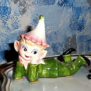Colorful Norcrest  Pixie Elf  with Long Hat