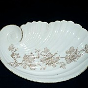 Carlsbad Austria Shell Shaped Dish