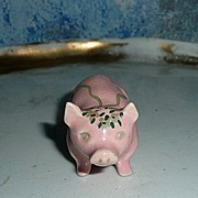 Cute Tiny Little Pink Pig