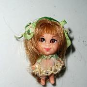 SOLD Mattel 'Liddle Kiddle Dolls' Lucky Locket Kiddles Jewel