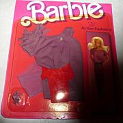 1984 Barbie Active Fashion #7917  *NIB