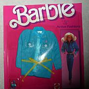 1984 Barbie Active Fashion #7910  *NIB