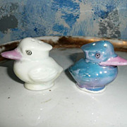 Vintage Small Birds  Shakers