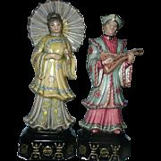 Pair of Vintage Chinese Figures