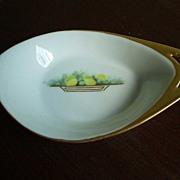 German Porcelain  Lemon Dish