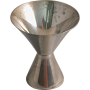 Vintage Sterling Cup/Bell Combination, Hallmarked The Thomae Co.