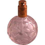 """French Perfume Atomizer, Clear/Frosted, Marked """"paVap"""", Vintage"""