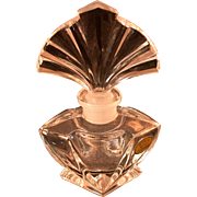 """Vintage Art Deco Style Perfume, Labeled """"Made In West Germany"""""""
