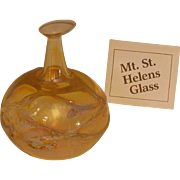 Mt. St. Helen's Glass Small Ewer, Early Vintage