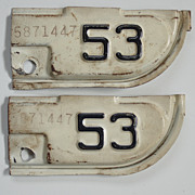 1953 California Corner Tabs