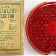 K-D Lamp Co., Triflex Rear Lamp Lens Reflector for 1939 Chevrolet, 1939 Pontiac; 1937 ...