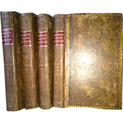 """The Life of Samuel Johnson"" by James Boswell Full Leather Binding 1799"