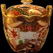 Spode 967 Imari or Japan Pattern Porcelain Violet Pot c. 1810