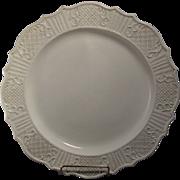 Fine 18th c. Salt Glazed Charger or Meat Platter