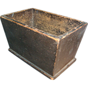 Good 19th c. American Paint Decorated Box or Caddy