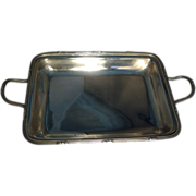 Large, Fine & Rare English George III Sterling Silver Entree Dish or Tray by John Edwards III